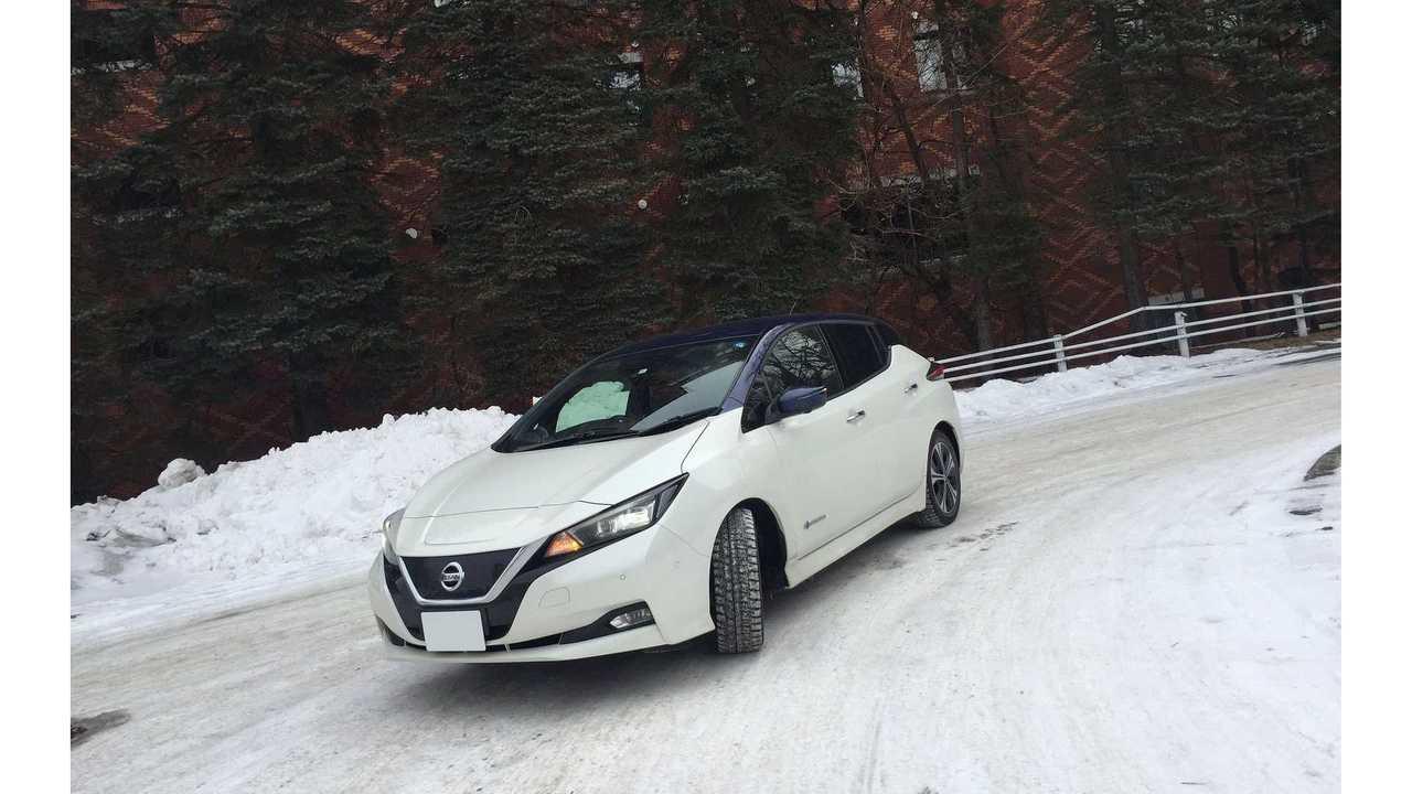No Sign Of Nissan LEAF e+ Sales Splash In Japan
