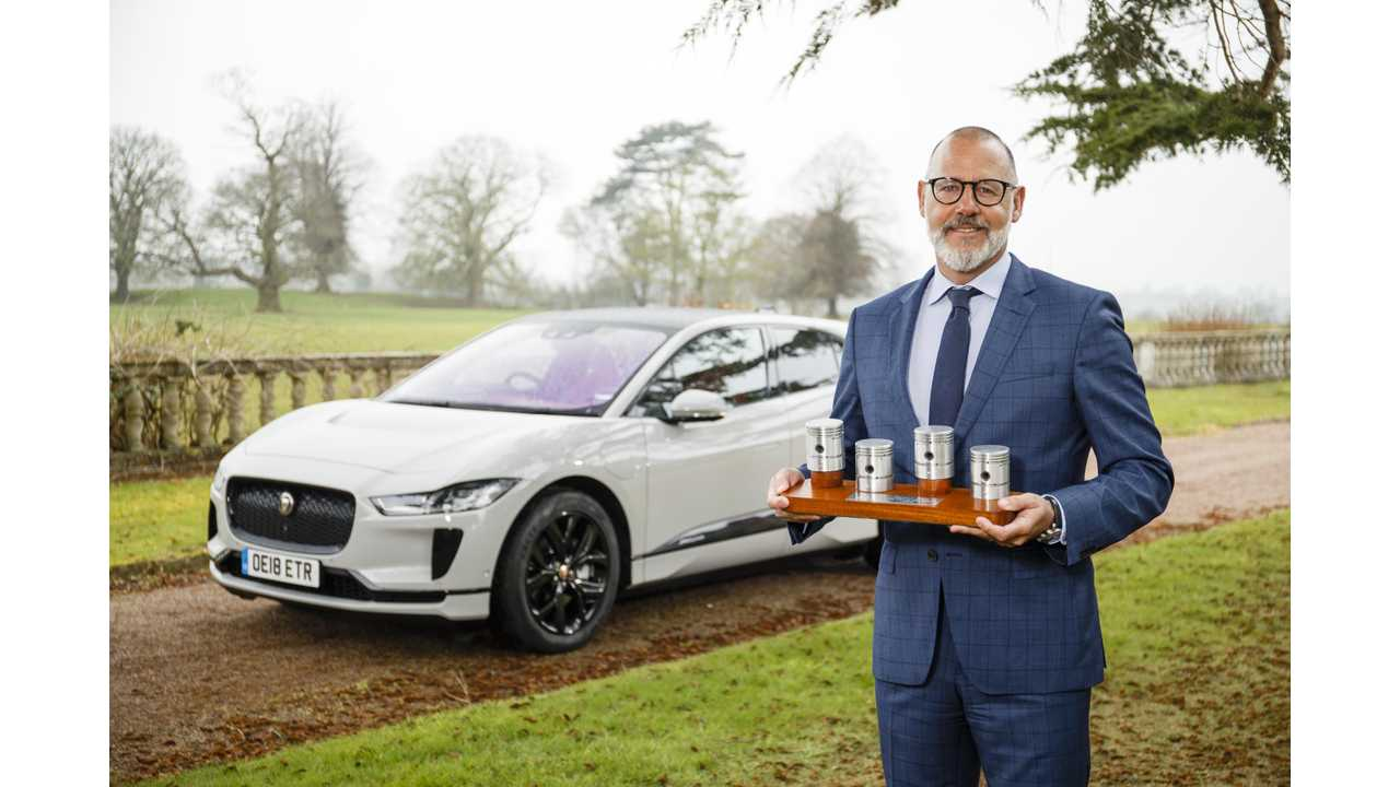 Jaguar I-PACE Is Awarded UK Car Of The Year 2019