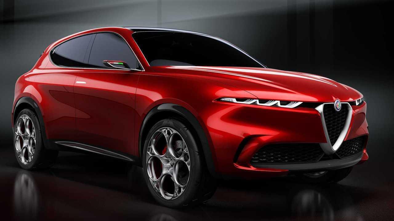 Alfa Romeo Tonale Previews Plug-In Hybrid Compact Crossover