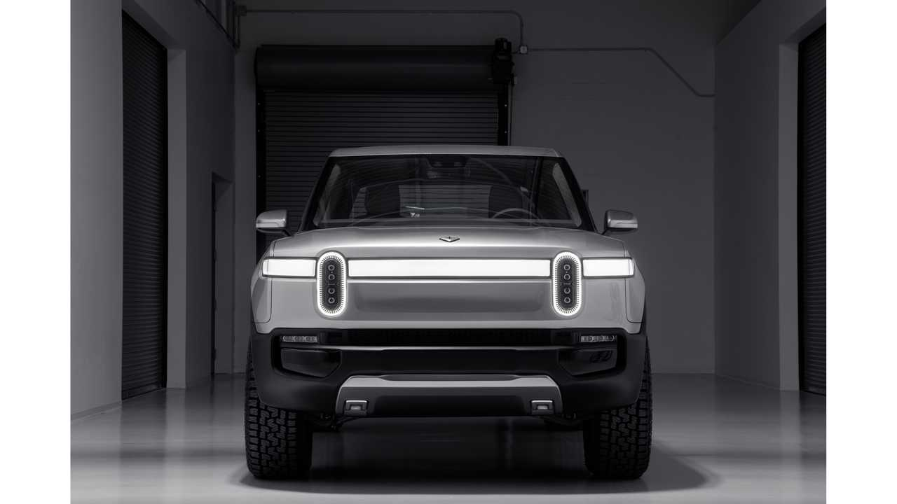Hot Or Not? Front End Of Rivian R1T Pickup Sure Ain't No Silverado HD