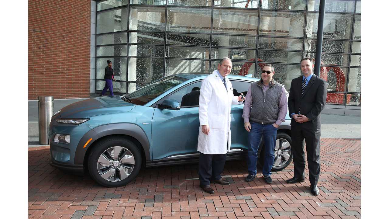 The First Hyundai Kona Electric Delivered In U.S.