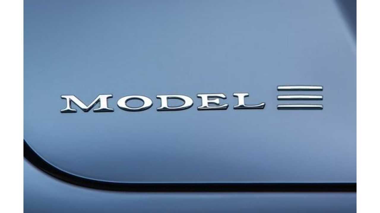 Tesla Model 3 Price Target Is $35,000 Before Incentives, $45,000 For The Crossover?