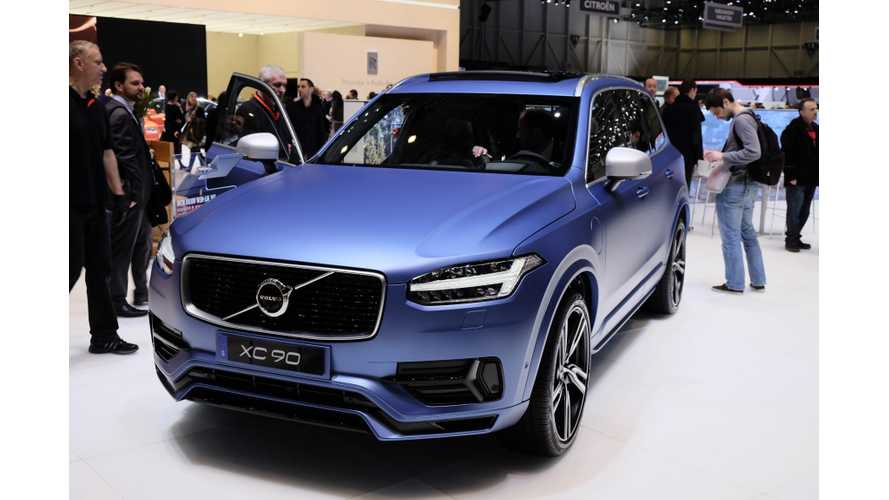 Volvo XC90 T8 Gets EPA Rated - Electric Range Of Up To 14 Miles