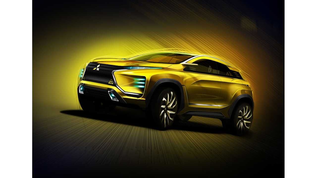 Mitsubishi To Present 100% Electric eX Concept SUV At Tokyo Motor Show