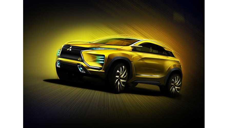 Mitsubishi To Present 100% Electric eX Concept SUV At Tokyo Motor Show