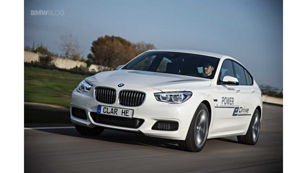 BMW Equips 5 Series GT With Plug-In Hybrid Tech