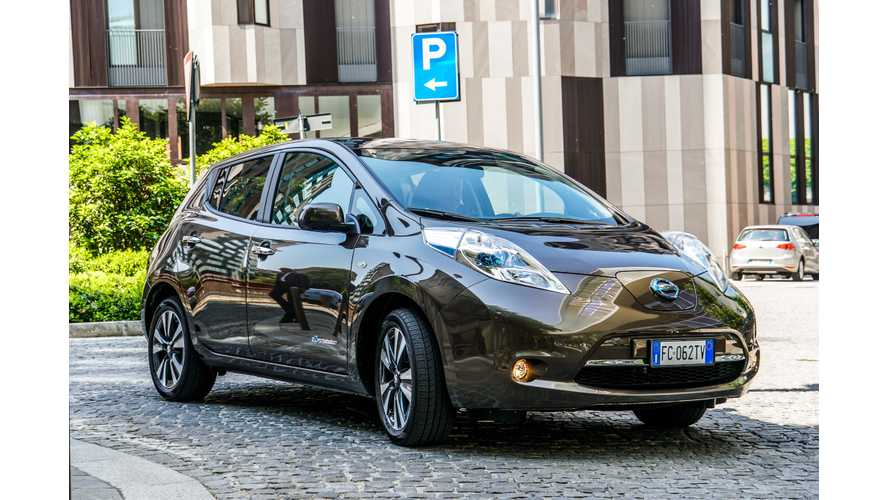 Nissan LEAF Sales In US Continue To Head Sideways In August
