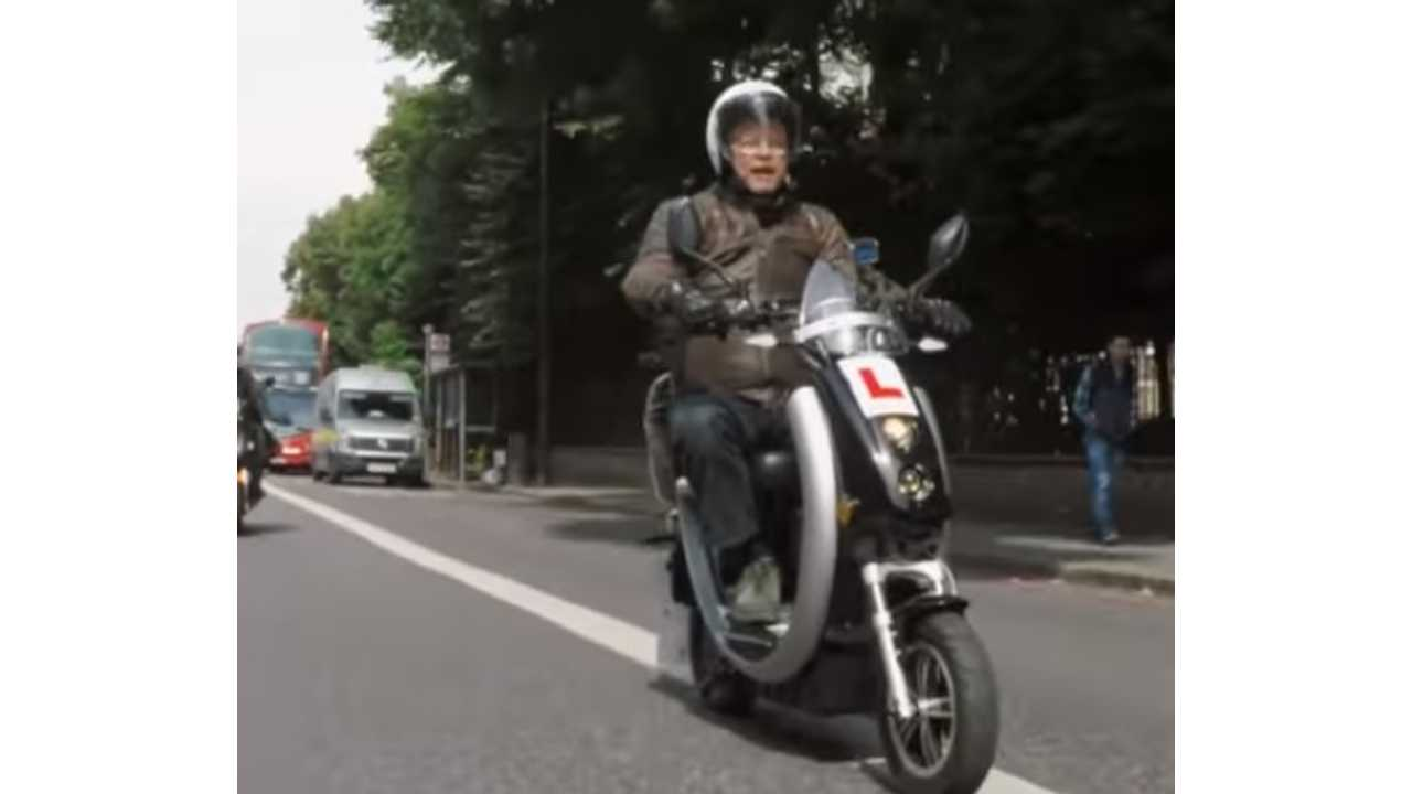 Fully Charged Features Vmoto Electric Scooters In London
