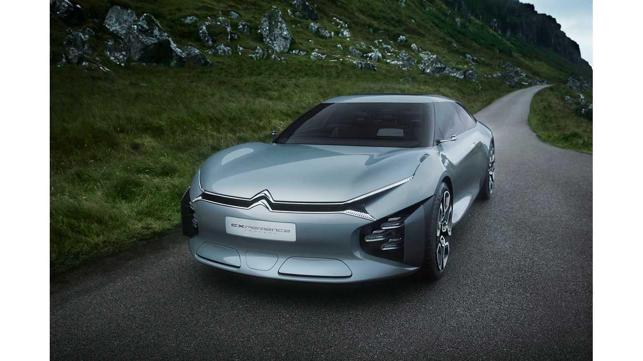 Citroen Cxperience Plug-In Hybrid Concept Revealed