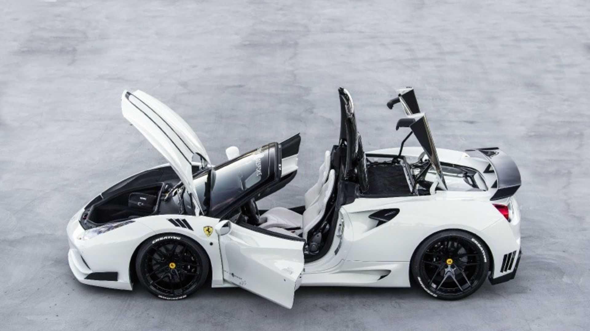 """[""""2017 Ferrari 488 Spider Novitec N-Largo""""]"""