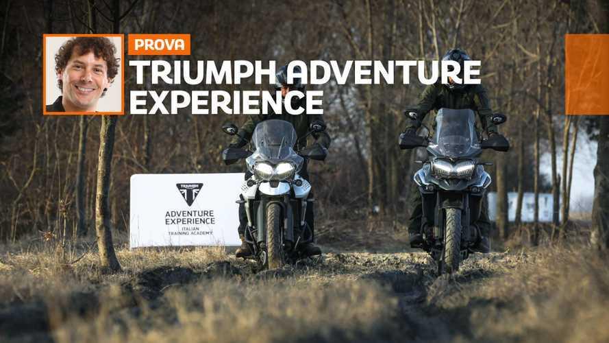 Triumph Adventure Experience, l'enduro parla inglese