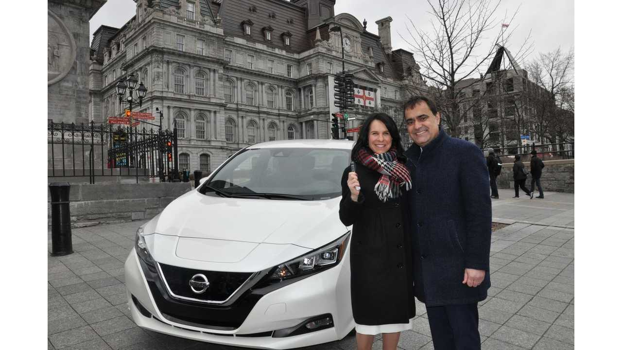 Montreal To Add 100 2018 Nissan LEAFs To Fleet