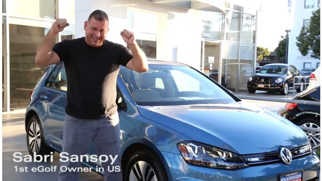 first e-golf owner in US