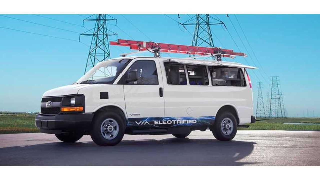 VIA Motors eREV Van