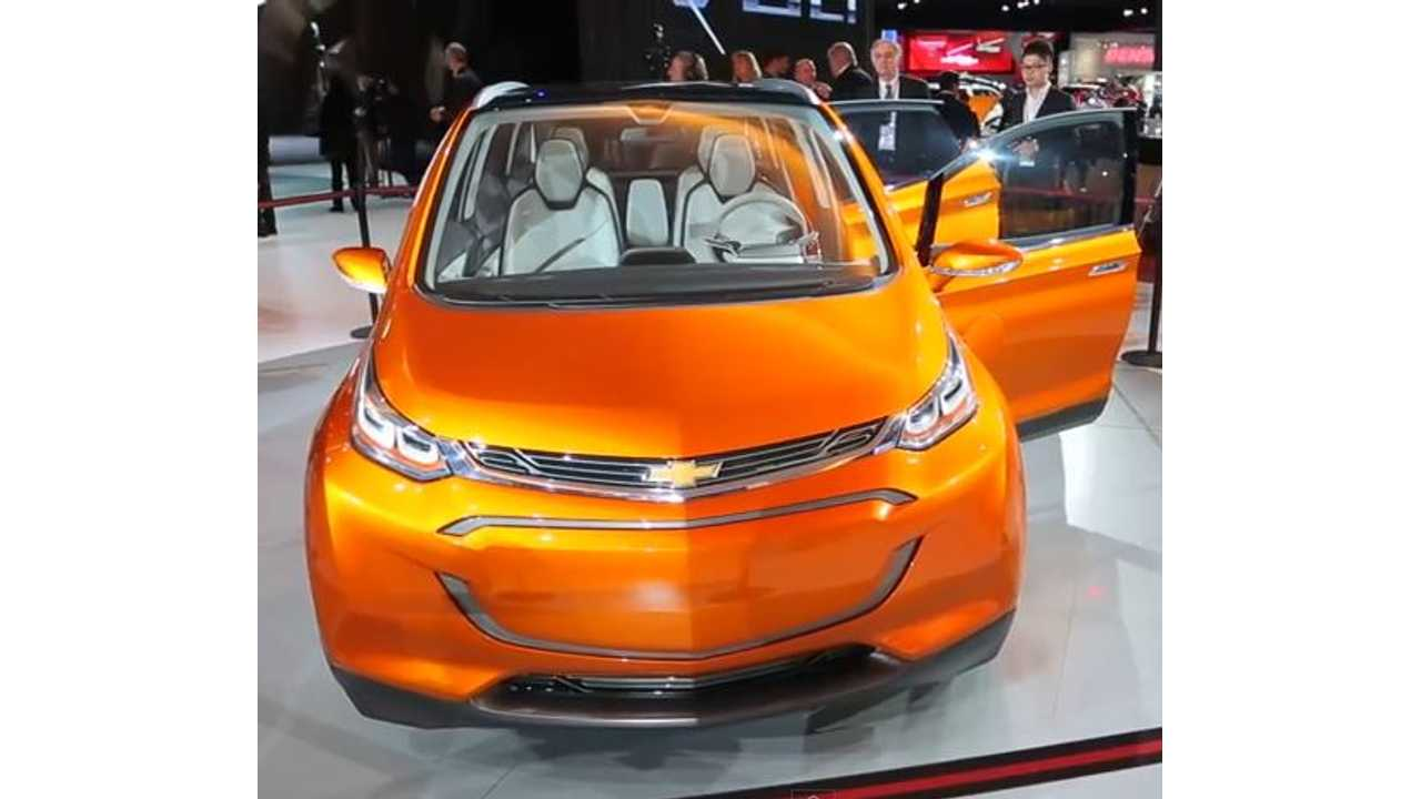 Chevrolet Bolt - Videos From 2015 NAIAS Debut