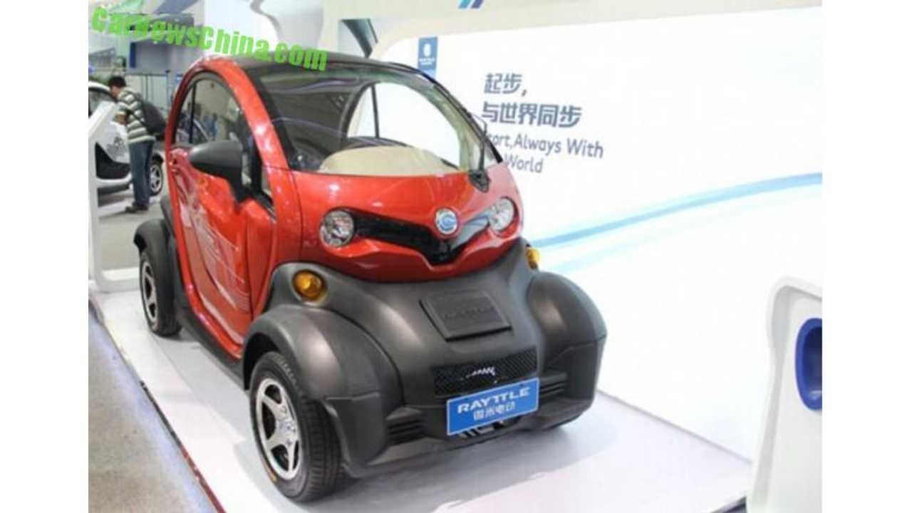 Renault Twizy Cloned By Rayttle E28 EV in China