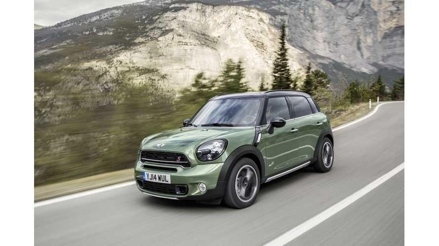 Mini Countryman Plug-In Hybrid Spotted Testing