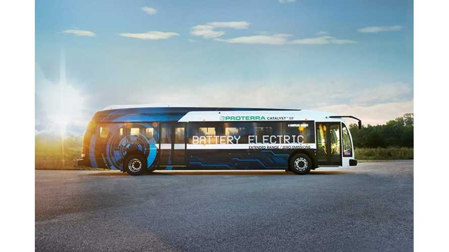 Proterra Catalyst XR Electric Bus Goes 258 Miles On Single Charge (w/video)