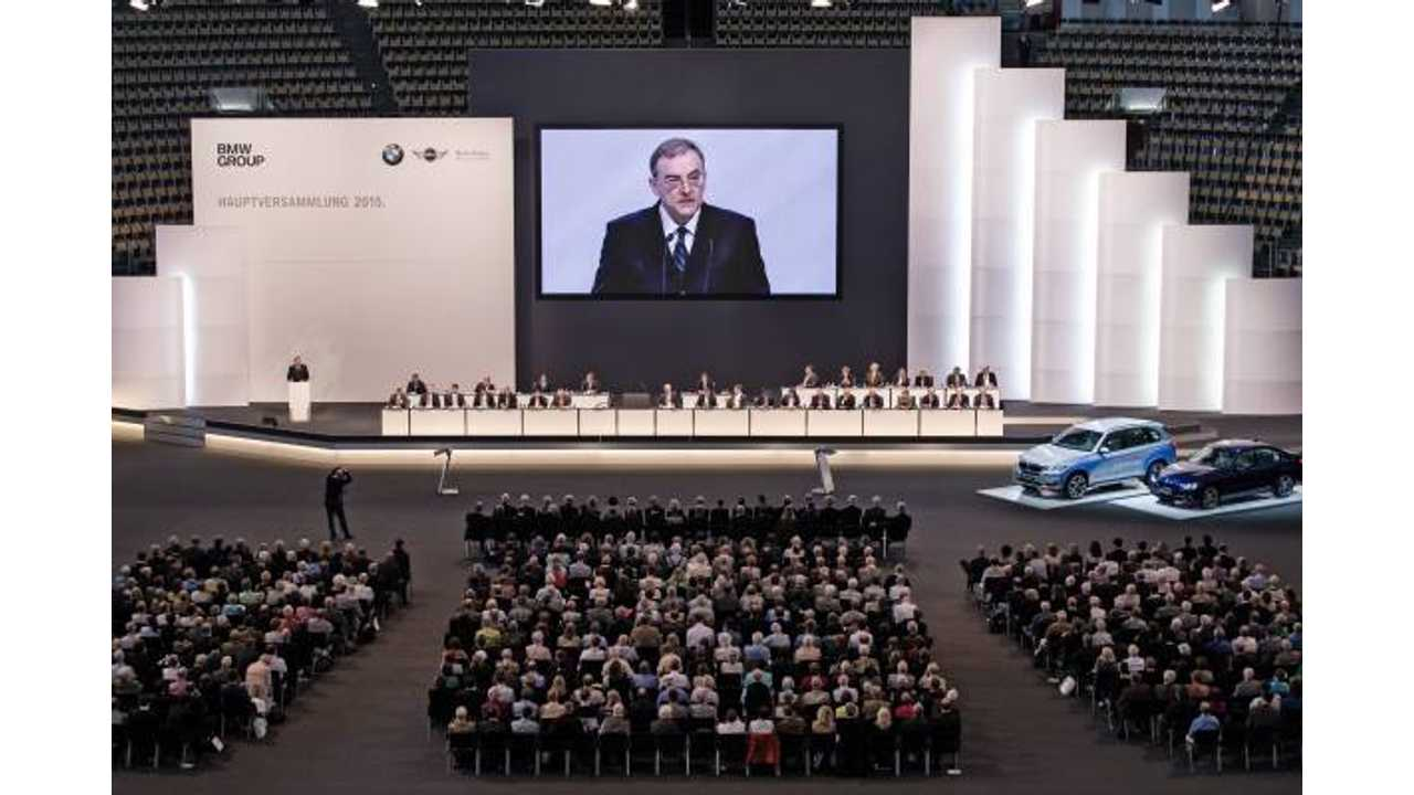 BMW CEO Issues Statement On Electric Cars
