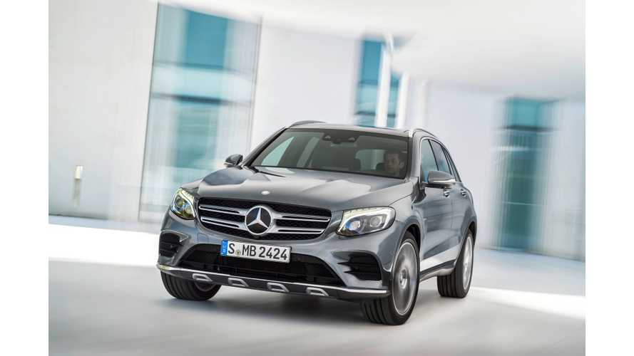 Mercedes-Benz ELC Long-Range Electric Crossover Coming In 2018