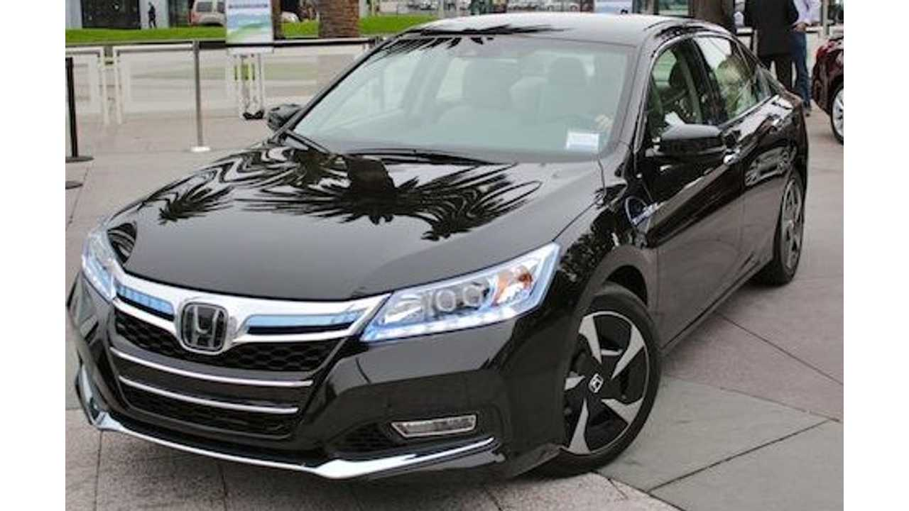2014 Honda Accord Plug-In (via automedia)