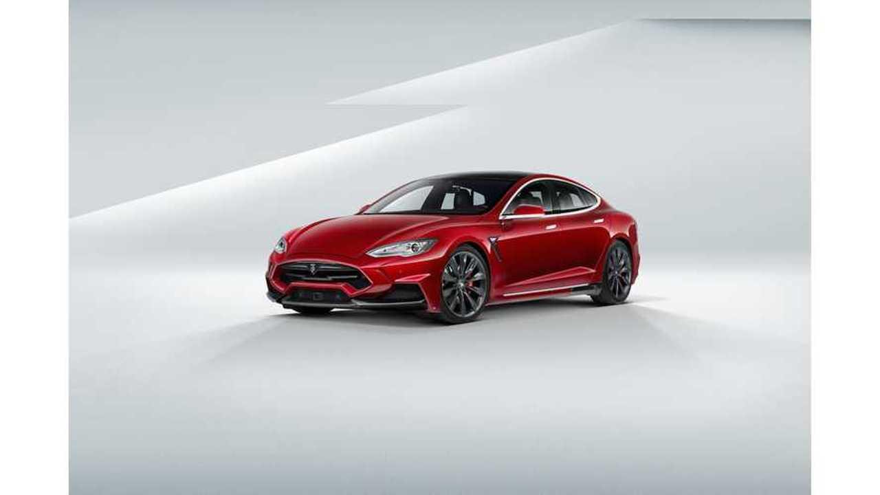 900 HP Tesla Model S P85D Under Development