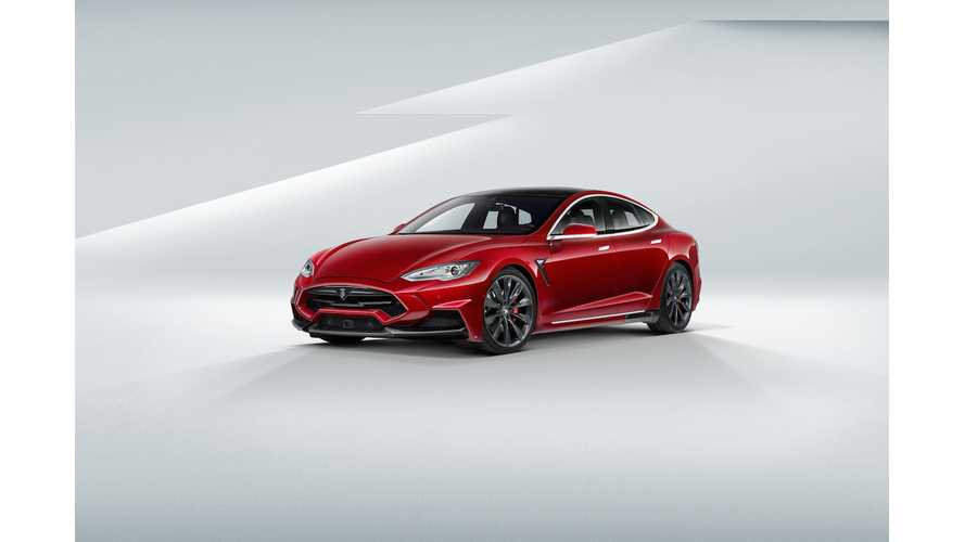 900 HP Tesla Model S P85D Under Development