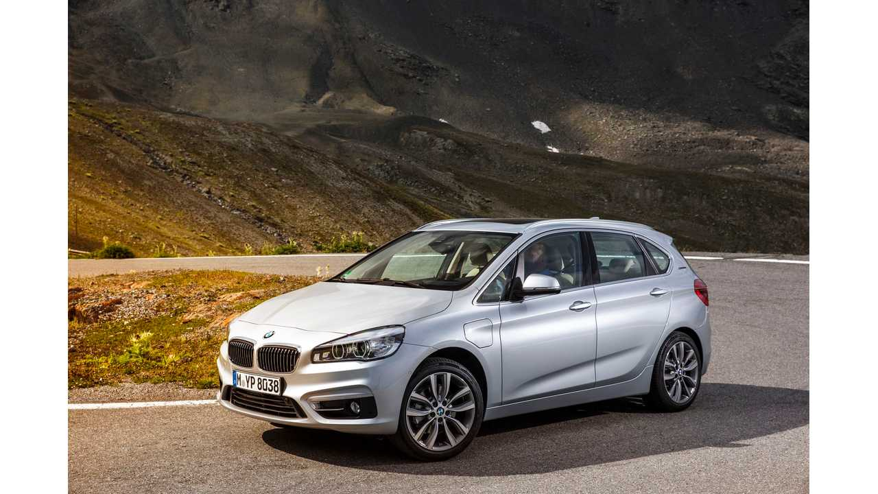 BMW To Show Off 4 Production Plug-In Hybrids In Frankfurt - 740e, 330e, 225xe and X5 xDrive40e
