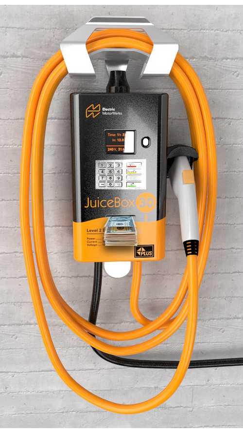 eMotorWerks Introduces JuicePoints Program That Pays EV Drivers To Plug In