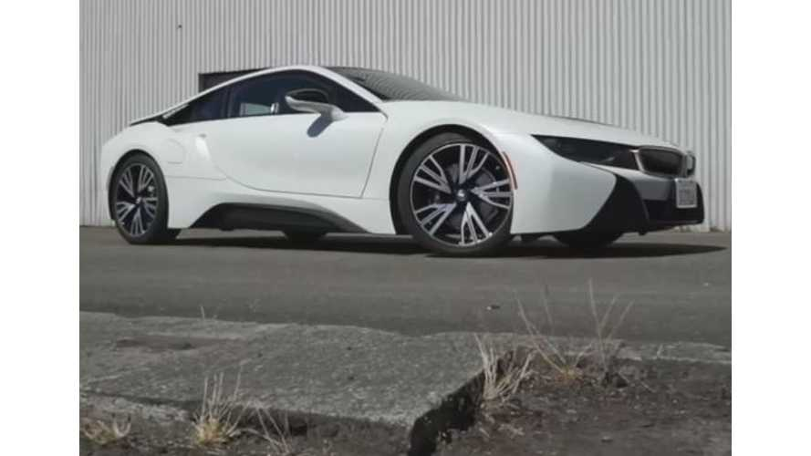 New York Times BMW i8 Video Review