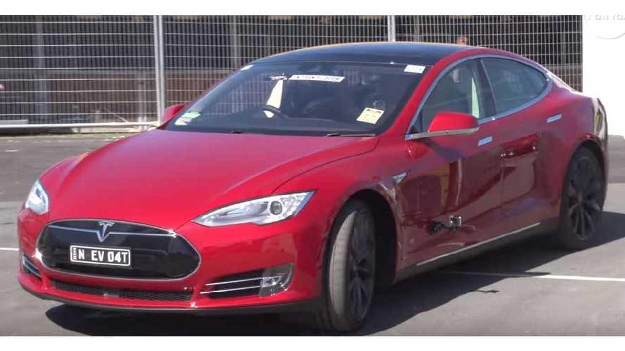 Tesla Model S P90D Wins