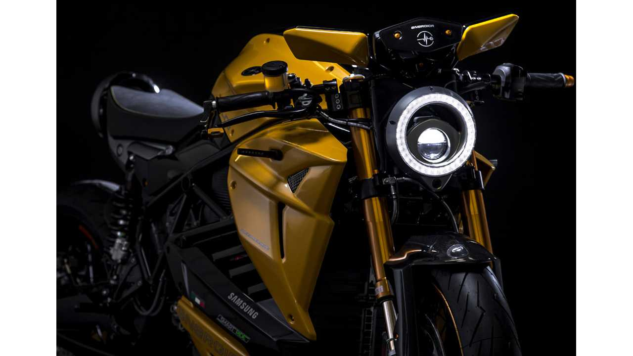 Energica Unveils Stunning Bolid-E Electric Motorcycle Prototype