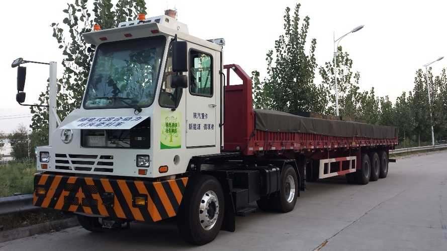 Efficient Drivetrains Delivers PHEV Trucks To Port Of Shanghai