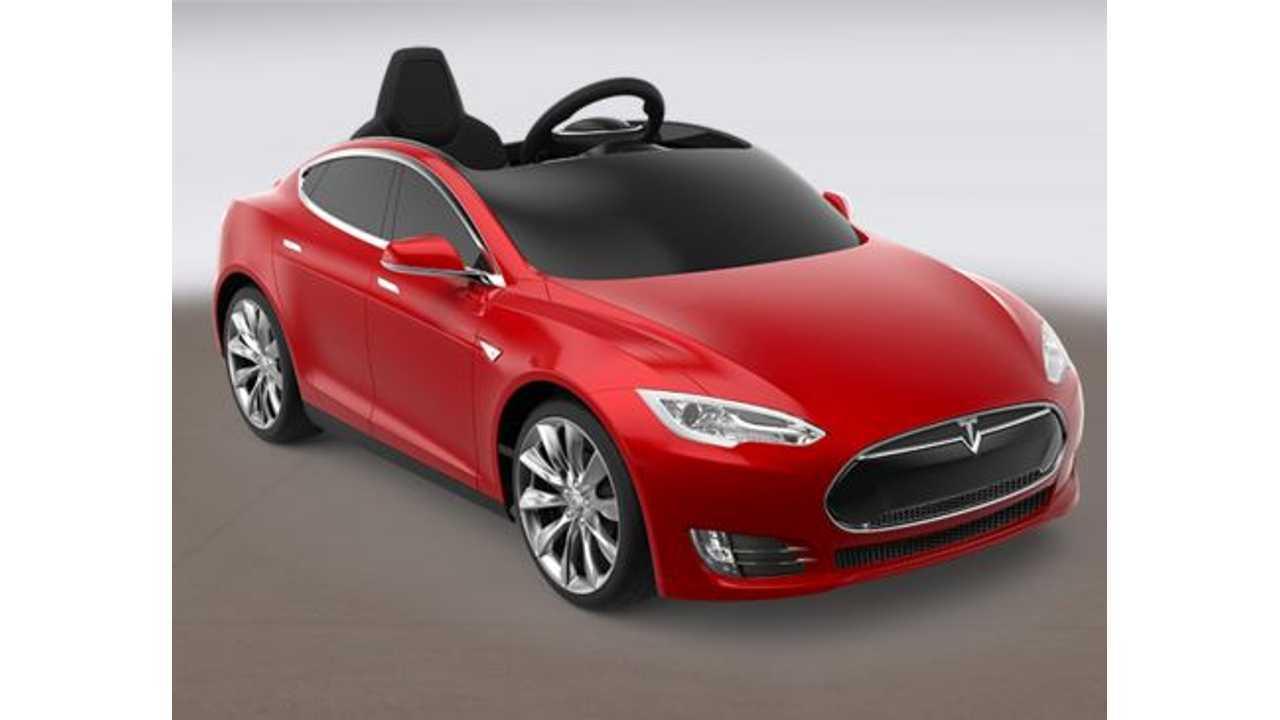 Introducing The Radio Flyer Tesla Model S - (w/video)