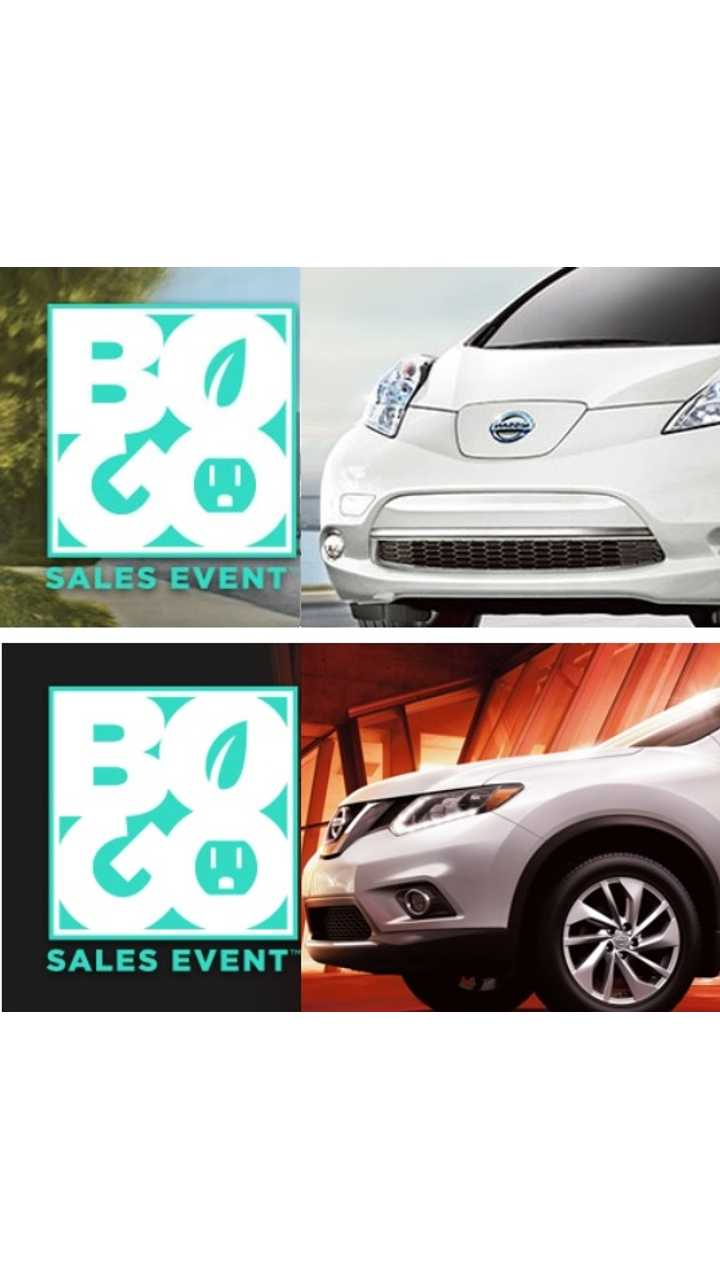 Nissan Dealer: Buy A 2015 LEAF And Get A Rogue For Free*!