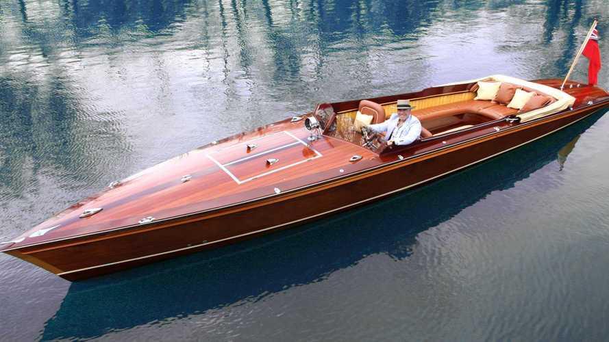 McLaren's Design Boss Builds Stunning Electric Boat