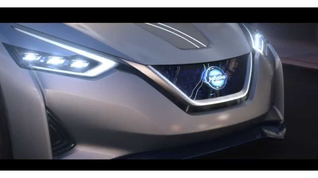 nissan ids concept driving