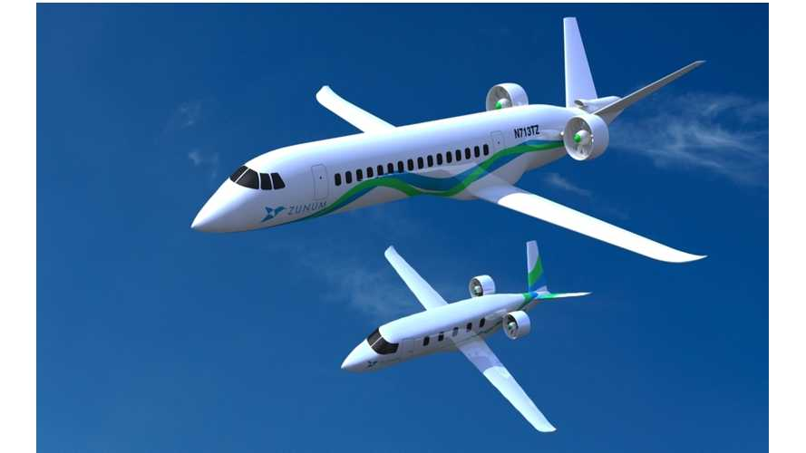 Boeing And JetBlue Invest In Electric Airplane Startup