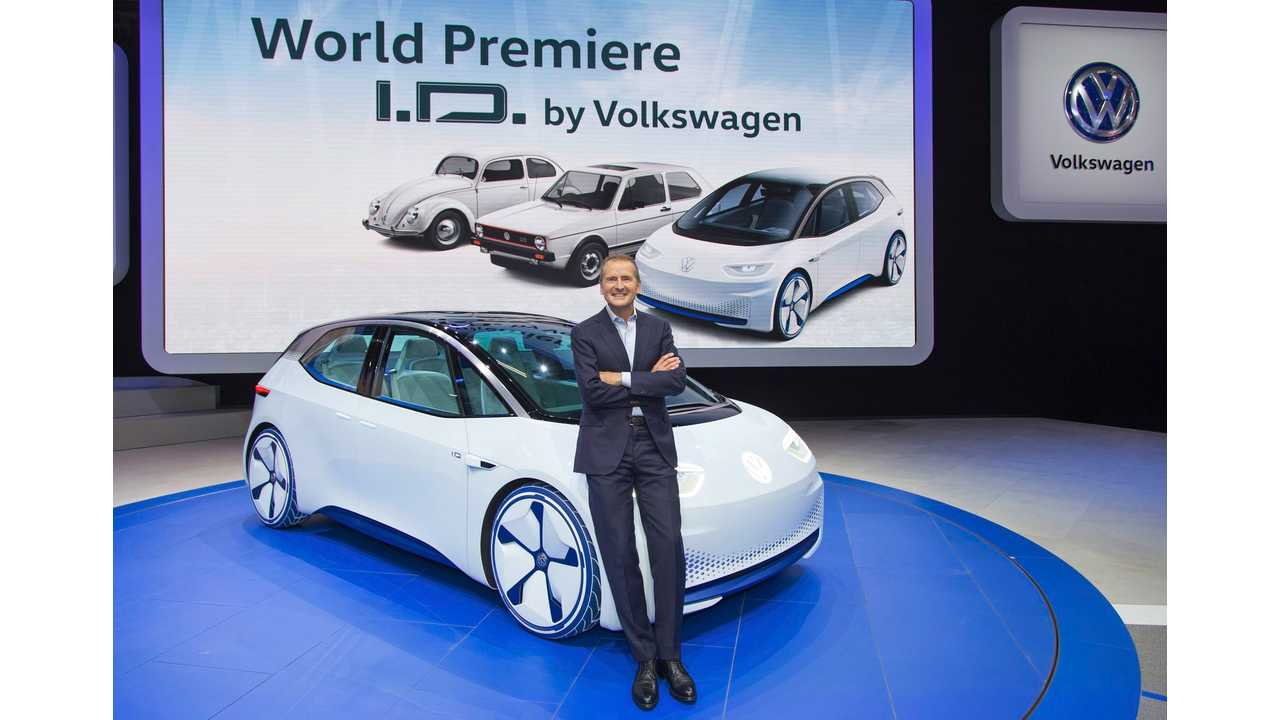 It Seems Volkswagen May Be Working On Not One, But Two I.D. Electric Sedans