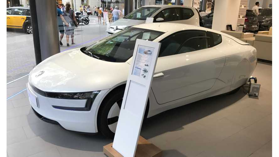 I Found The Last VW XL1 For Sale In All Of Spain