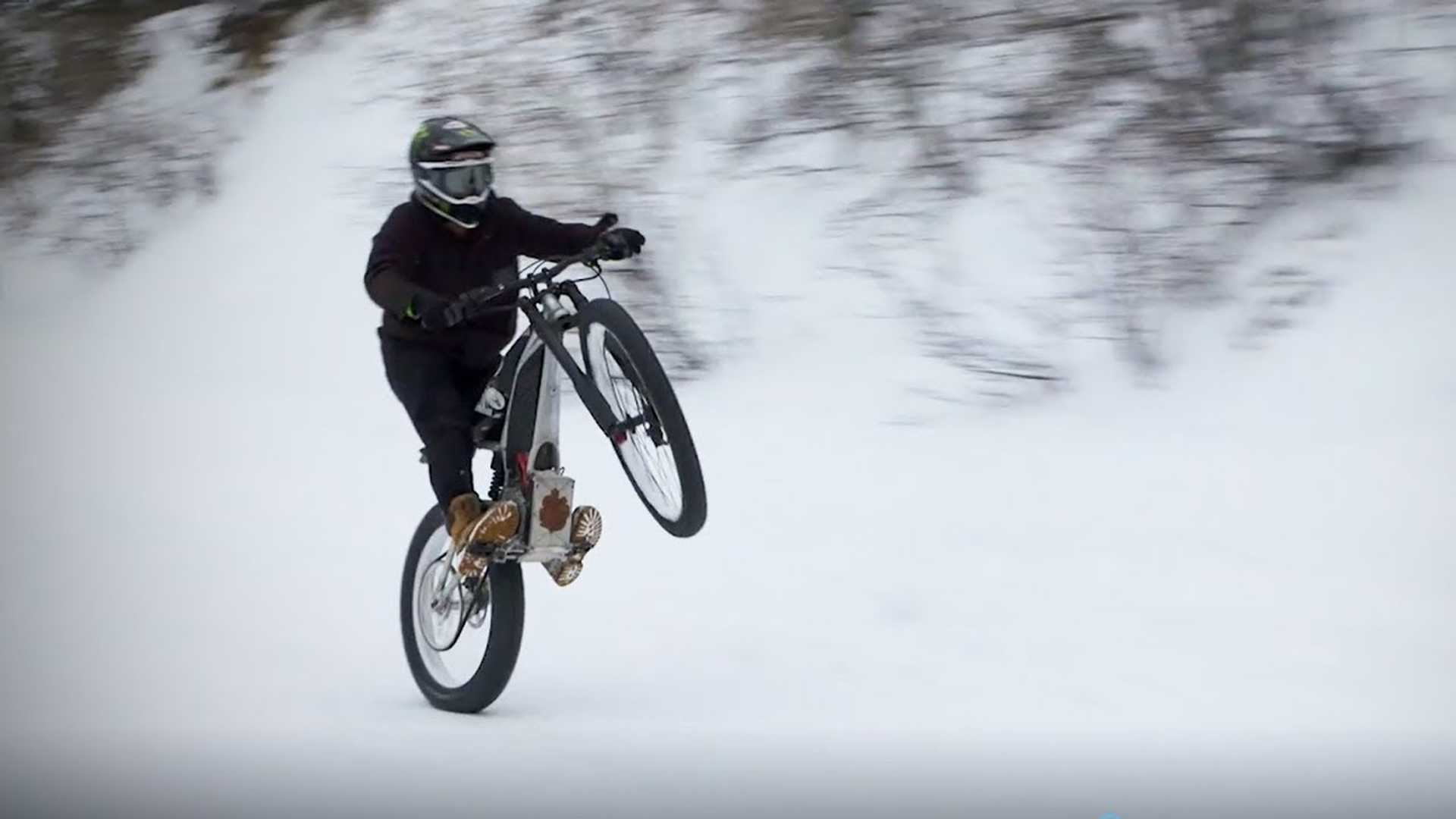 Watch New Harley Concept Electric Bike In Action