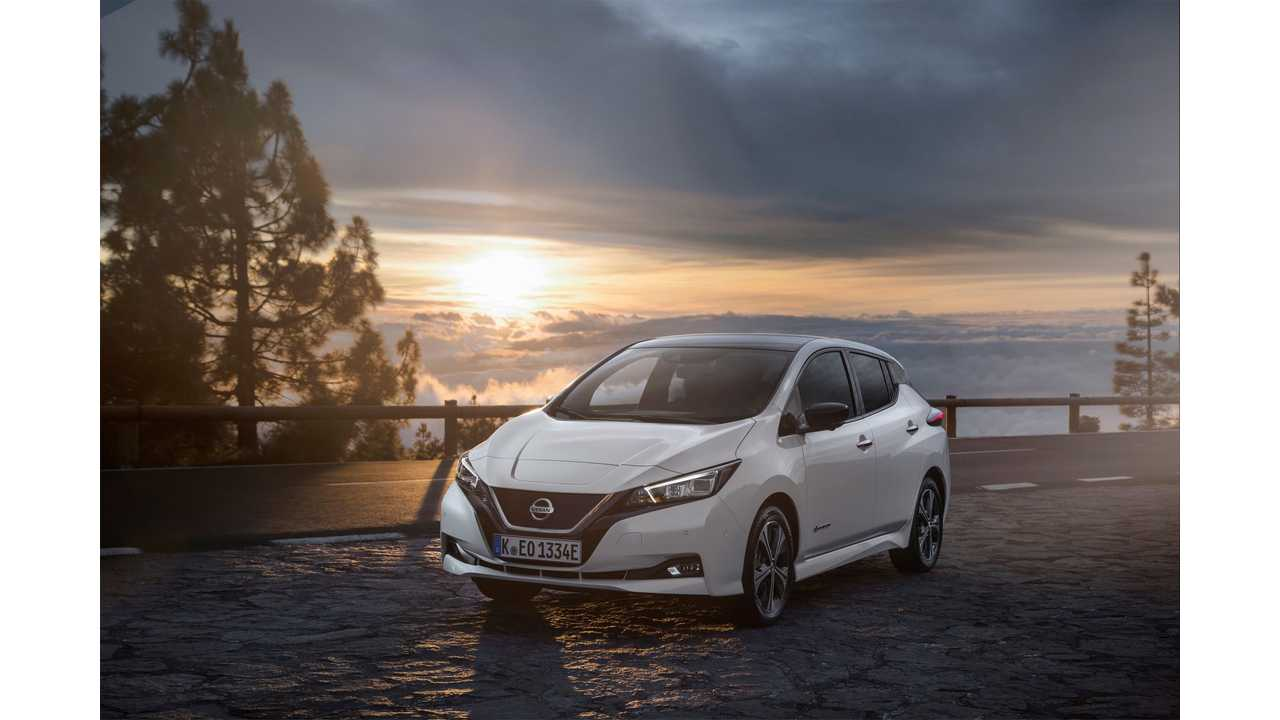 New Nissan LEAF Sales Closing In On 10,000 Per Month, 100,000 Yearly