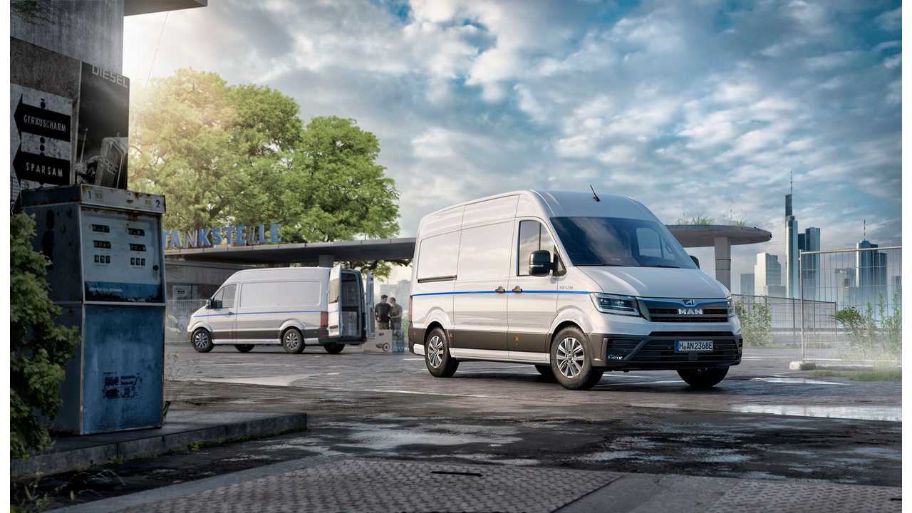 Volkswagen's MAN Launches New Electric Van