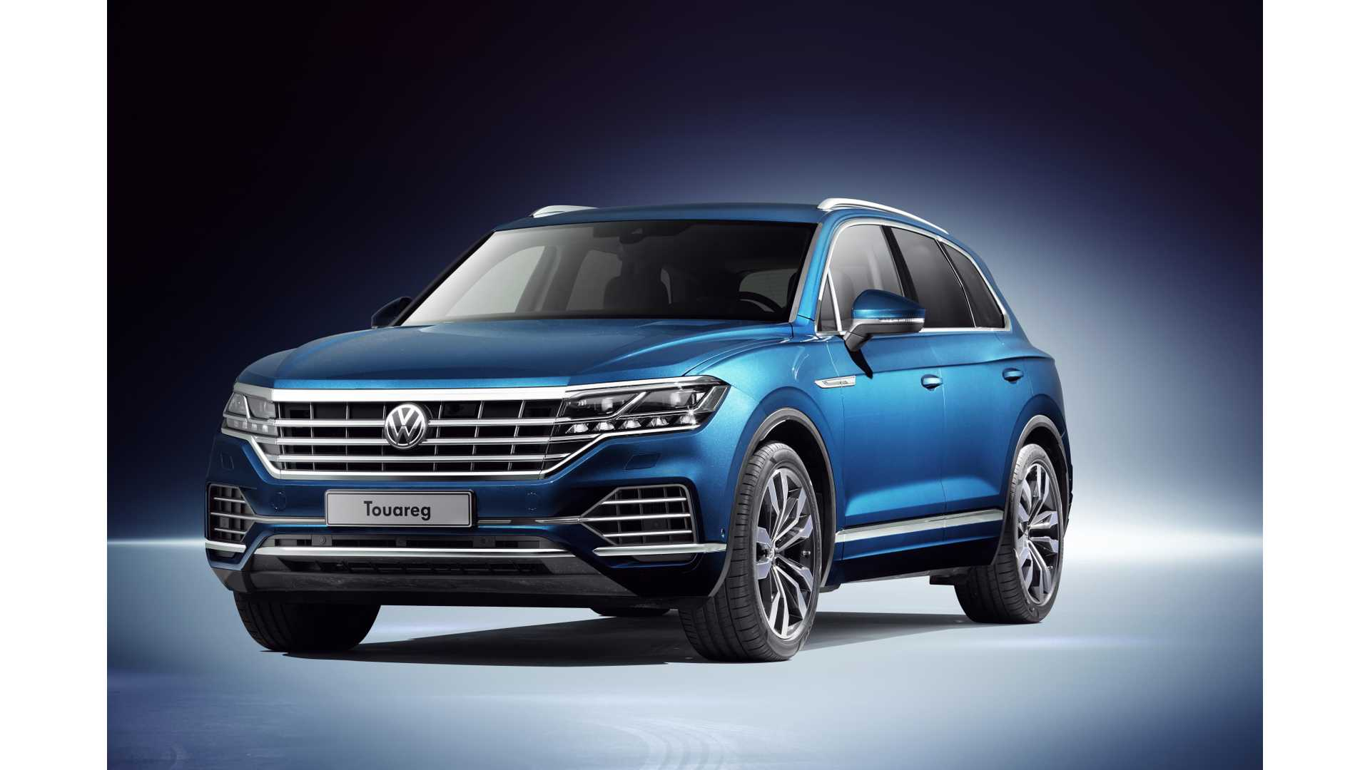 Meet The New Volkswagen Touareg Phev Coming This Year