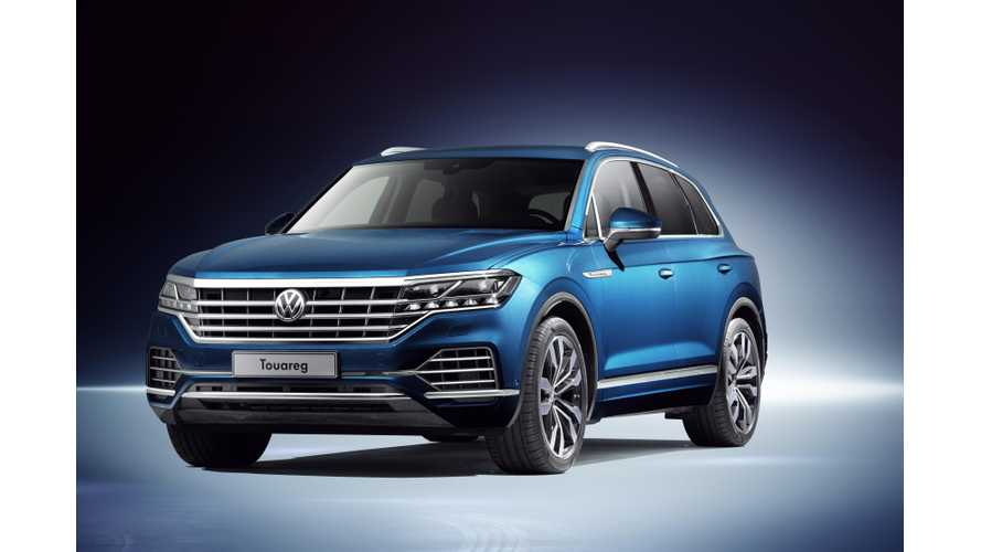 Meet The New Volkswagen Touareg - PHEV Coming This Year