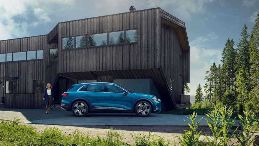 Bjørn Nyland Takes First Look At Audi e-tron: Video