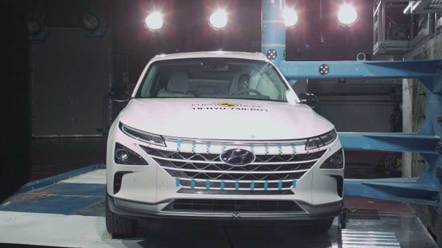 Euro NCAP Award 5 Stars To First Hydrogen Fuel Cell Car Ever Tested