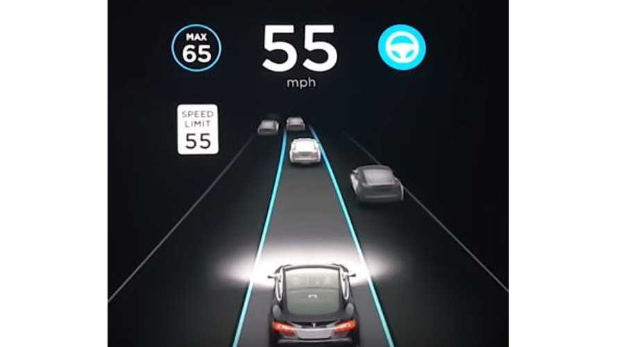 As Promised, Tesla Autopilot 8.0 Sees Several Cars Ahead - Video