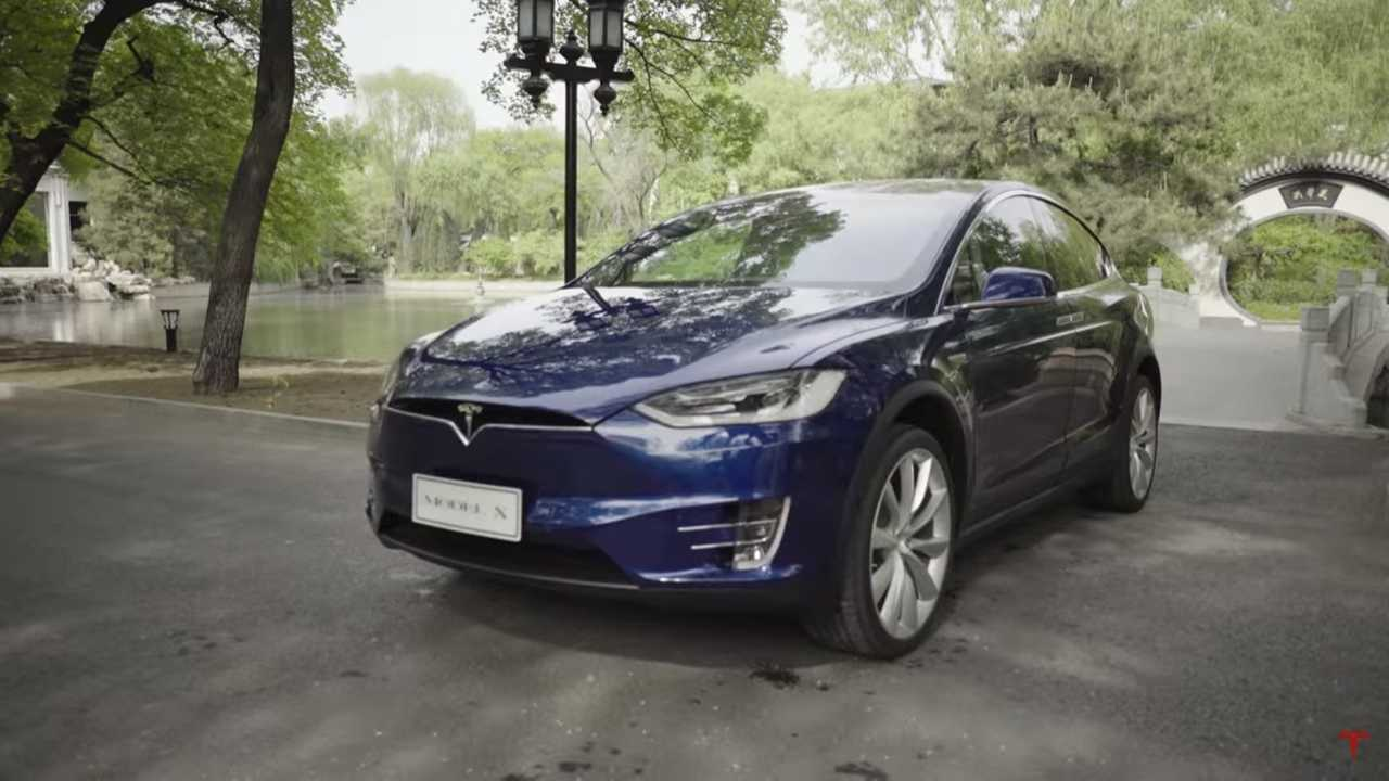 Tesla Model X and S Owners Gather To Set Guinness World Record In China (w/video)