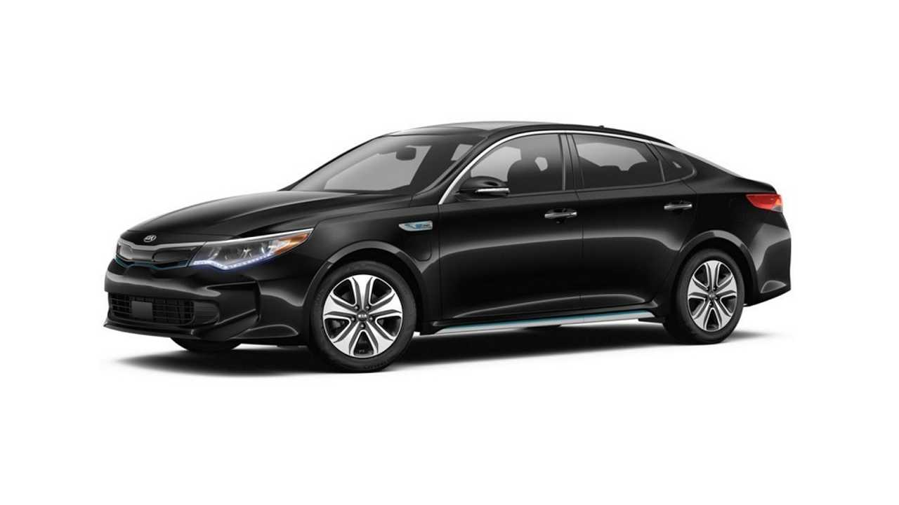 Does 2017's first plug-in offering, the Kia Optima Plug-In Hybrid come in black? You bet it does!